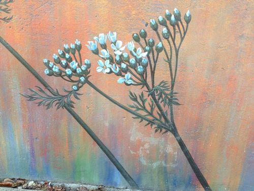 Mural-fleur-buds